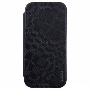 Чехол (книжка) Baseus Brocade черный для HTC One M8