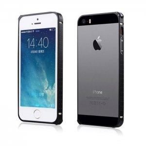 Чехол-бампер для Apple iPhone 5/5S - BASEUS Sky Light черный