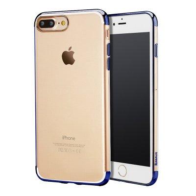 Силиконовый чехол Baseus Shining синий для iPhone 8 Plus/7 Plus