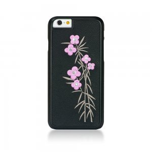 Чехол-накладка для Apple iPhone 6 - Bling My Thing Petite Couturiere Flora Elegance черный