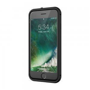 Стеклянный чехол SwitchEasy Glass прозрачный + черный для iPhone 8/7