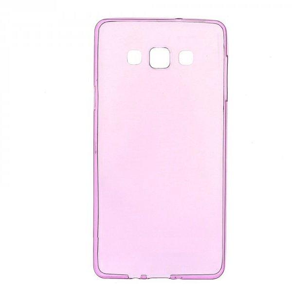 Чехол-накладка для Samsung Galaxy A7 - 0.3мм, розовый