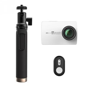 Экшн камера Xiaomi Yi 4K Action Camera White Kit Selfie Stick + Bluetooth Remote International Edition (YI-90006) белая