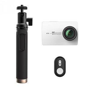 Экшн камера Xiaomi Yi 4K Action Camera White Kit Selfie Stick + Bluetooth Remote International Edition (YI-90006) белая