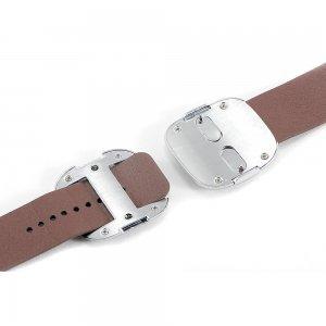Ремешок для Apple Watch 38/40 мм - Coteetci W5 Nobleman коричневый
