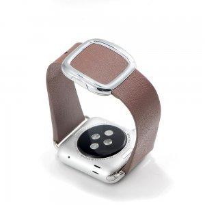 Ремешок для Apple Watch 38mm - Coteetci W5 Nobleman коричневый