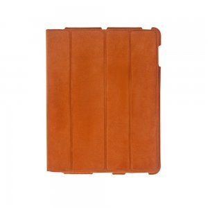 Чехол-книжка для Apple iPad 4/3/2 - Dublon Leatherworks Smart Perfect оранжевый