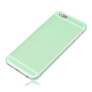 Чехол-накладка для Apple iPhone 6 Plus - Ultrathin Frosted зеленый