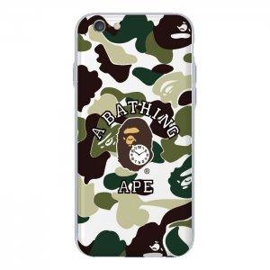 Чехол с рисунком WK Abathing Ape для iPhone 6/6S