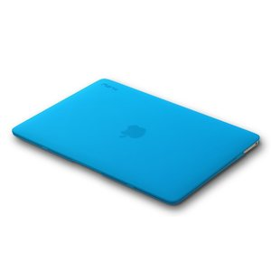 "Чехол-накладка для Apple MacBook 12"" - Kuzy Rubberized Hard Case голубой (Aqua Blue)"