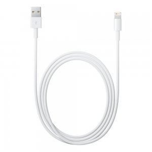 Кабель Apple Lightning для Apple iPhone/iPad/iPod (MD818) белый