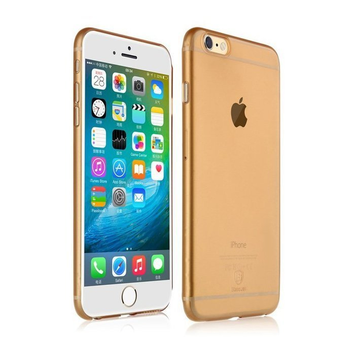 Чехол Baseus Chaumet золотой для iPhone 6/6S