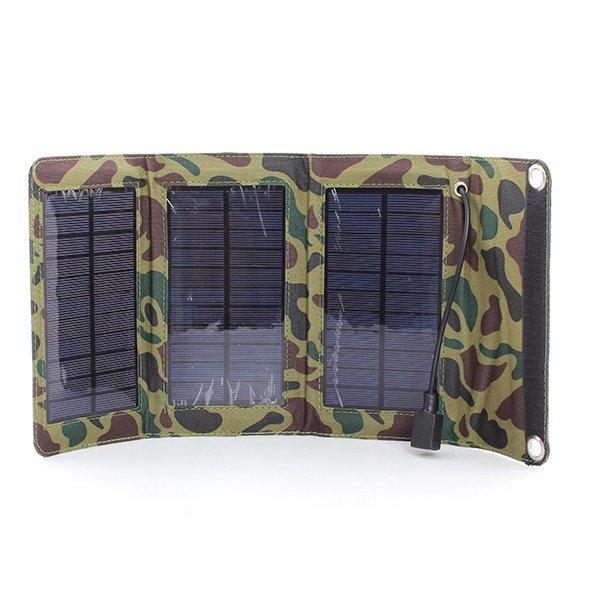 Внешний солнечный аккумулятор 2.4GHz 5W, 5.5V, 900мАч, камуфляжный окрас