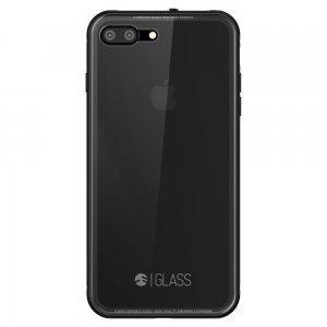 Стеклянный чехол SwitchEasy Glass прозрачный + черный для iPhone 8 Plus/7 Plus