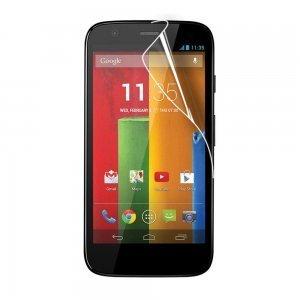Защитная пленка для Motorola Moto G глянцевая, прозрачная