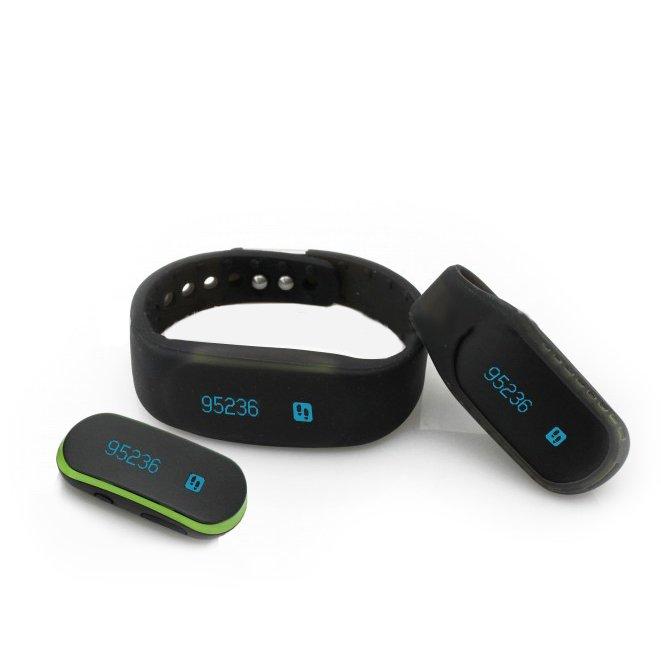 Фитнес браслет J-Style 3D сенсор Bluetooth 4.0 черный