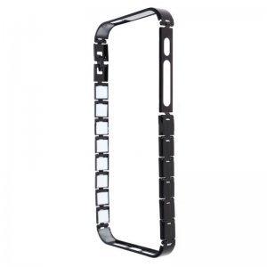 Бампер Knuckle черный для iPhone 5/5S/SE