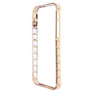 Бампер Knuckle золотой для iPhone 5/5S/SE