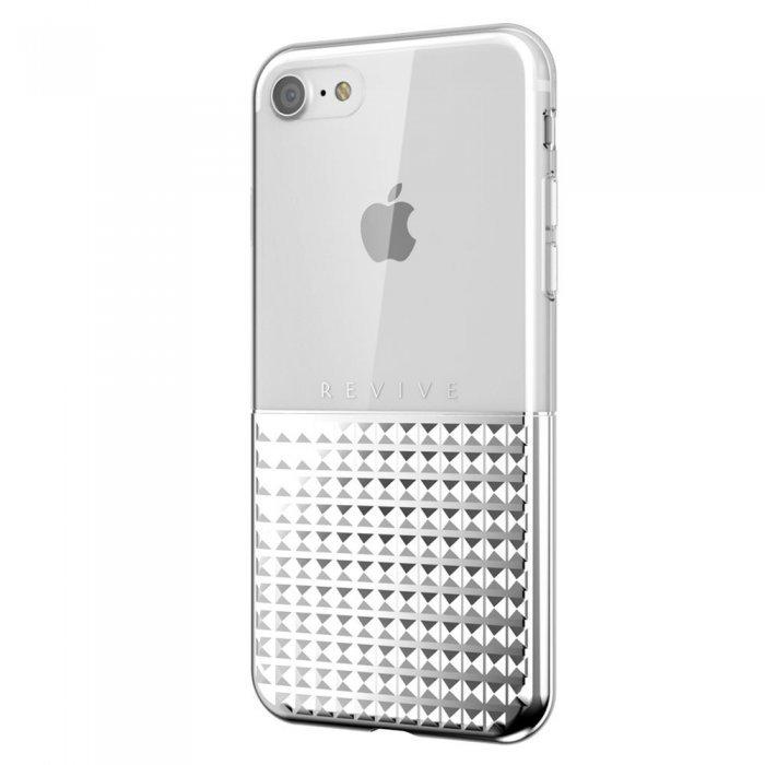 3D чехол SwitchEasy Revive серебристый для iPhone 8/7