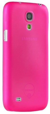 Чехол-накладка для Samsung Galaxy S4 mini - Ozaki O!Coat 0.4 Jelly розовый
