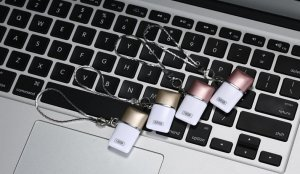 Флеш память Remax с Micro-USB, USB, емкостью 16Гб, золотистая