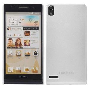 Чехол BASEUS Silker белый для Huawei Ascend P6