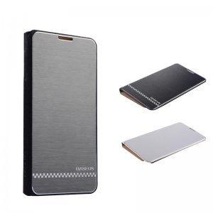 Чехол (книжка) BASEUS Noble business серебристый для Samsung Note 3