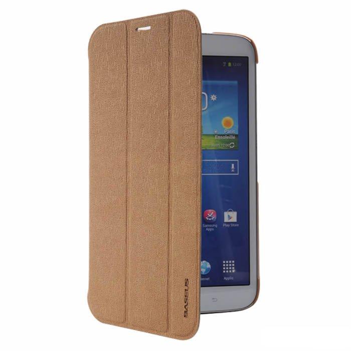 Чехол (книжка) Baseus Folio коричневый для Samsung Galaxy Tab 3 8.0