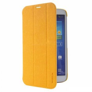 Чехол (книжка) Baseus Folio желтый для Samsung Galaxy Tab 3 8.0
