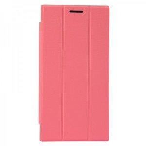 Чехол (книжка) Baseus Folio розовый для Lenovo K900