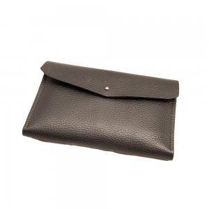 Чехол-кошелек Dublon Leatherworks iWallet Pro черный для смартфона