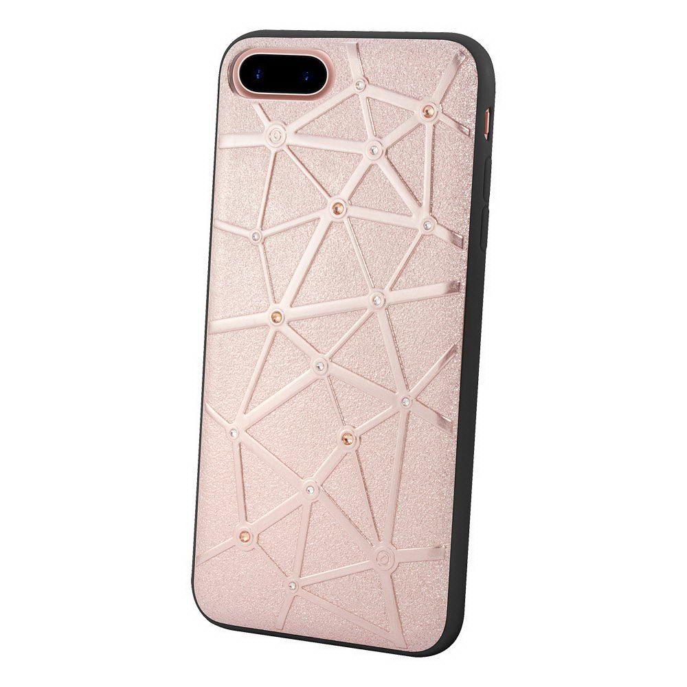Чехол со стразами Coteetci Star розовое золото для iPhone 8 Plus/7 Plus