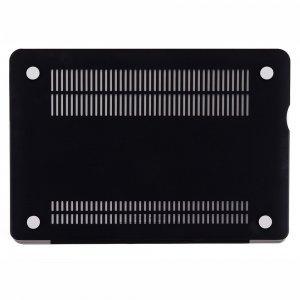 """Чехол-накладка для Apple MacBook Pro 15"""" - Kuzy Rubberized Hard Case черный"""