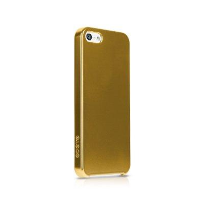 Чехол-накладка для Apple iPhone 5/5S - Odoyo Slim Edge золотистый
