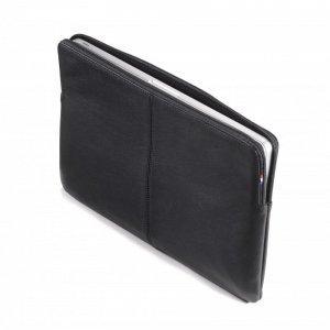 """Кожаный чехол Decoded Sleeve with Zipper Pocket черный для MacBook 12"""""""