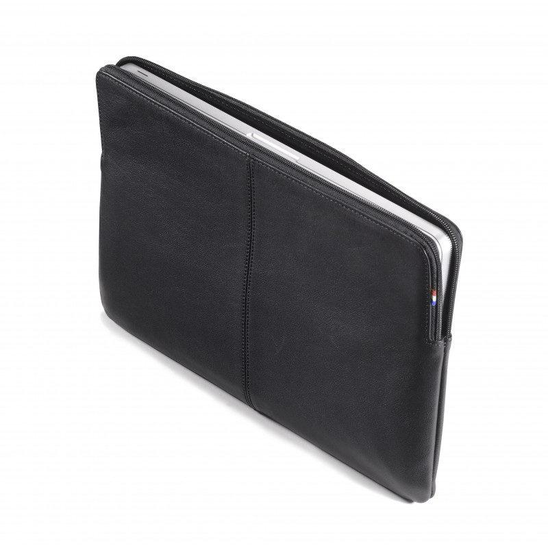 """Кожаный чехол Decoded Sleeve with Zipper Pocket черный для MacBook Pro/Pro Retina 15"""" (D3SZ15BK)"""