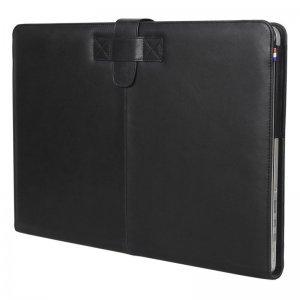 """Кожаный чехол Decoded SlimCover черный для MacBook Air 13"""" (D4MA13SC1BKLC)"""