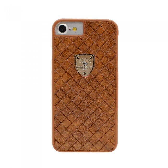 Кожаный чехол Polo Fyrste коричневый для iPhone 8/7/SE 2020
