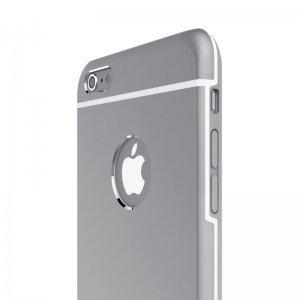 Чехол со стразами iBacks Armour Crystal Cartier серый для iPhone 6 Plus/6S Plus