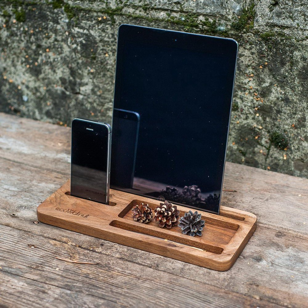 Подставка для iPad, iPhone - EcoWalNut Office