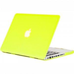 "Чехол-накладка для Apple MacBook Pro 13"" - Kuzy Rubberized Hard Case желтый (Neon Yellow)"