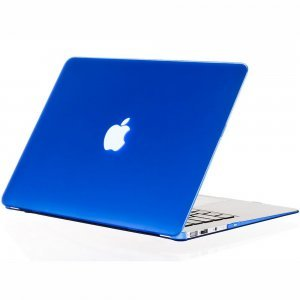 "Чехол-накладка для Apple MacBook Air 13"" - Kuzy Rubberized Hard Case синий"