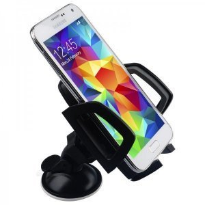 Универсальный автодержатель для смартфона Baseus Mini черный