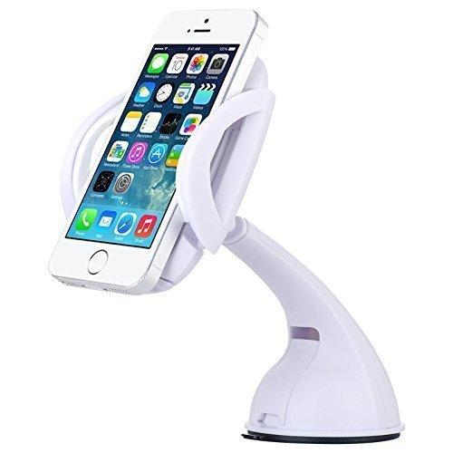 Универсальный автодержатель для смартфона Baseus Motion белый