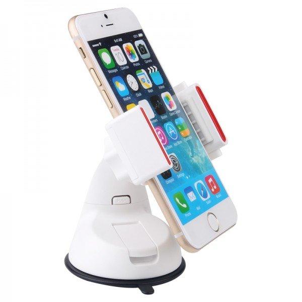 Универсальный автодержатель для смартфона Baseus Super белый