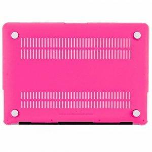 "Чехол-накладка для Apple MacBook Air 13"" - Kuzy Rubberized Hard Case розовый (Neon Pink)"