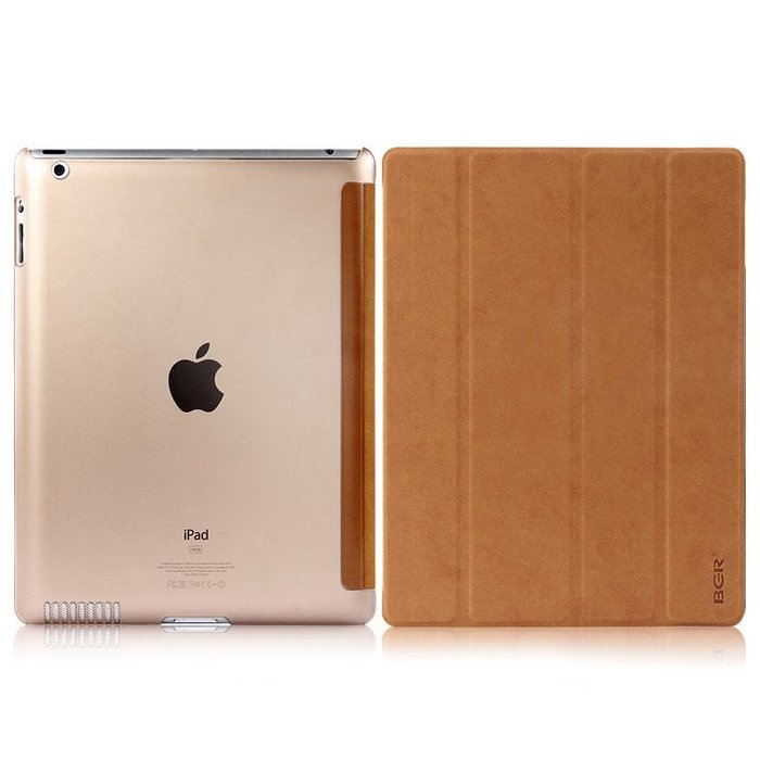 Чехол-книжка для Apple iPad 2/3/4 - BGR Perfect коричневый