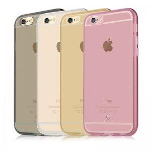 Полупрозрачный чехол Baseus Golden золотой для iPhone 6 Plus/6S Plus
