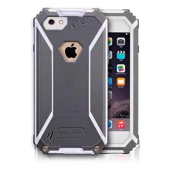 Водонепроницаемый чехол Bolish C4702 серый для iPhone 6/6S