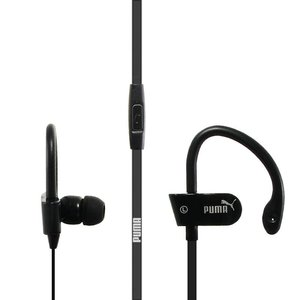 Наушники Puma Sport с микрофоном, черные